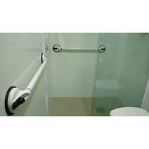 Barra De Apoio Para Banheiro 88cm, Sucção Por Ventosa