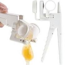 Prático Quebrador De Ovos Ez Cracker Com Separador De Gema