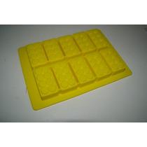 Forma De Gelo E Chocolate Blocos De Montar Lego Silicone Aml