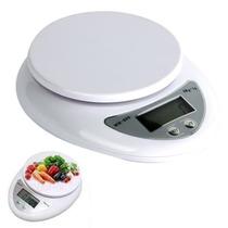 Balança Digital Cozinha 1g Até 5kg Alta Precisão.