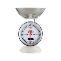 Balança De Cozinha Farol Brandani Aço Inox Branca 2kg 17x2