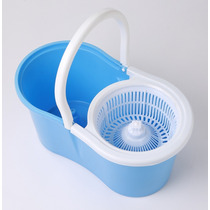 Spin Mop Inox 360º Balde Com Esfregão E Rolamento Reforçado*