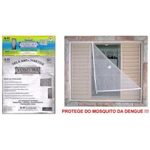 Tela Mosqueteira Anti-inseto Para Janelas E Portas 100x150cm