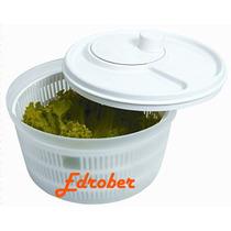 Centrífuga Lavadora Saladas Secadora Verduras Plástica Manua