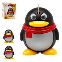 Paliteiro Automatico Pinguim De Plastico