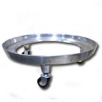 Suporte Giratório Alumínio Fundido Para Botijão De Gás