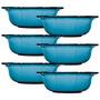 Bowls Para Sobremesa Precie - 6 Peças - Safira Em Vidro