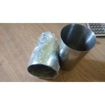 Copo Em Aço Inox 500 Ml 8 Cmt Boca X 13 Cmt Altura