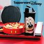 Tupperware Kit Mickey Ou Minnie - Copo E Pratinho