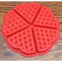 Forma Em Silicone Para Waffle - Pronta Entrega!