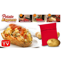 Saco Para Assar Batatas Microondas Potato Express Bag