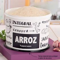 Tupperware Caixa De Arroz 5 Kilo Feijão 2kg E Sal 1 Kilo