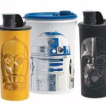 Copos E Guarda Suco Star Wars Tupperware