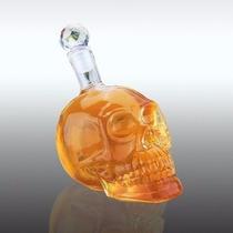 Garrafa De Caveira 350ml - Whisky Vodka Tequila
