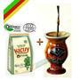Y1p1 Kit Chimarrão Cuia + Bomba + Filtro + Erva + Chá+manual