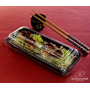 Embalagem Retangular P/comida Japonesa Galvanotek Go905 C100