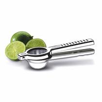 Espremedor De Limão Manual Em Aço Inox