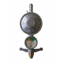 10 Peças Registro Regulador Válvula De Gás Botijão Manometro