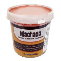 Massa Acrilica P/ Madeira Assoalho Mogno 370g Machado