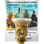 Cuia Chimarrão Tradição + Bomba + Manual Chimarrão