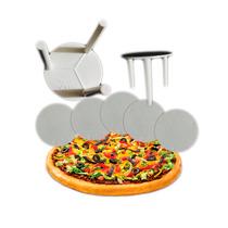 Suporte Plástico De Pizza Personalizado Kit 30.000 Unidades