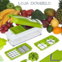 Nicer Dicer Processador Cortador Alimentos Manual Salada