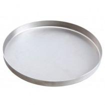 Forma De Pizza 30cm Em Alumínio