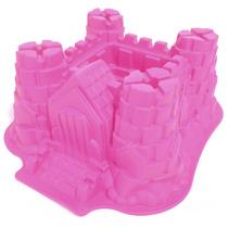 Forma De Silicone Para Bolo Castelo Assadeira Torta Cupcake