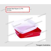 Tupperware - Caixa Bom Sabor Pequena 1,2 Litro