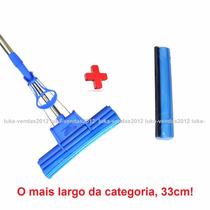 Super Rodo Mágico 33cm + Refil+bucha Magic Maior Q Os Outros