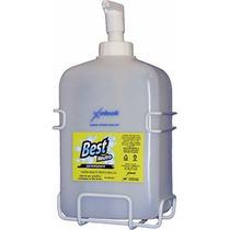 Dispenser Sabão Liquido E Sabonete 2,8 Litros C/ Suporte Aço