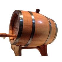 Barril | Carvalho Europeu 2,5l Caçhaca,vinho,wisque,cerveja