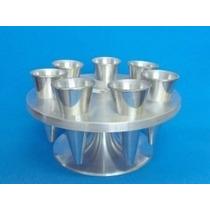 Forma Pizza Cone Com 7 Cones Em Aluminio