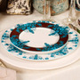 Conjunto Pratos Rasos Flat Calcutá - 6 Peças - Em Cerâmica