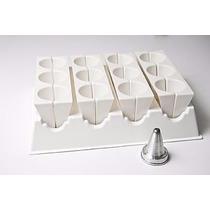 Forma Modeladora Fábrica Coxinhas Grandes + Brinde