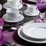 Jogo De Jantar Roma Branco - 20 Peças - Em Cerâmica