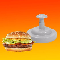 Modelador Fatiador De Hambúrguer Profissional De Plástico