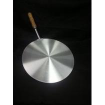 Pá Para Pizza - Em Aluminio - 35 Cm - Cabo 27 Cm