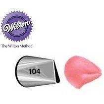 Bico Wilton 104 Petala Pequeno Original Wilton Sem Emenda