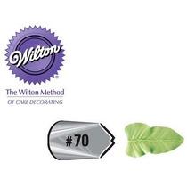 Bico Para Confeitar Inox Pequeno - 70 Folha Wilton