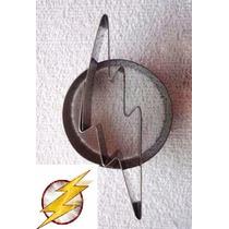 Cortador Simbolo The Flash Inox Biscoito Pasta Americana