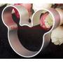 Cortador Molde Em Alumínio Mickey Frete R$ 8,00