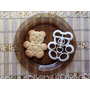 Cortador De Biscoito Em Forma De Ursinho Teddy - Em 3d