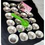 24 Formas Empada Cupcake + Carretilha Corta E Fecha Massas