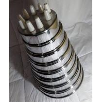 8 Formas Para Bolo Alumínio E Kit 9 Bicos + Saco + Adaptador