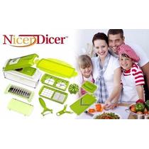 Processador Picador De Alimentosem Geral Super Nicer Dicer !