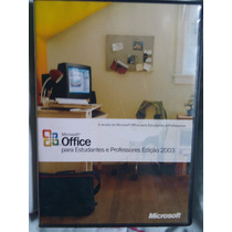 Office 2003 Para Estudantes E Professores Com Chave Key