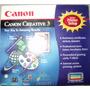 Cd Duplo/raro/completo Canon Creative 3 R$20
