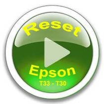 Reset Impressora Epson T33 E T30 ( Adjustment Program )