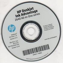 Cd De Instalação Para Impressora Deskjet 2646 / 2640